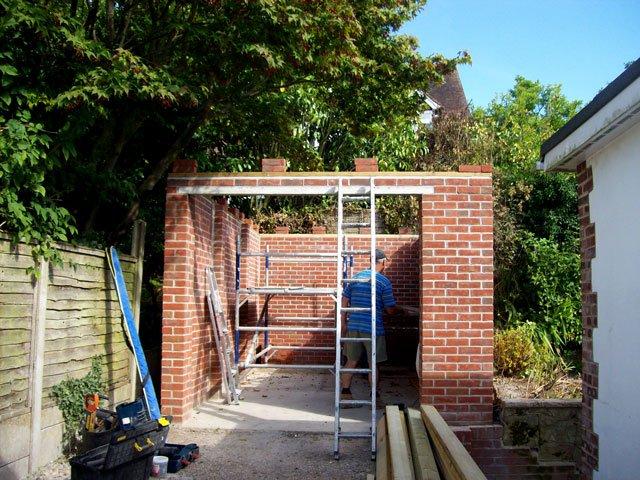 garage_noroof - walls complete