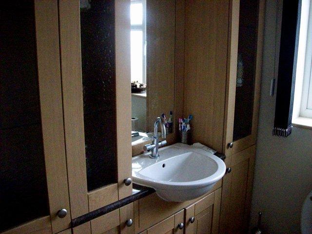 new bath suite sink